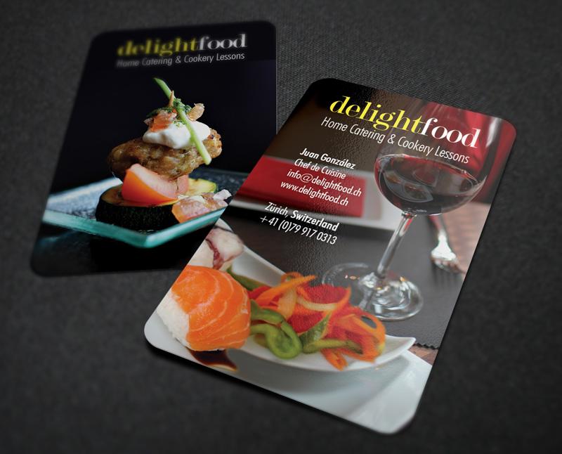 Delightfood - Tarjeta de visita